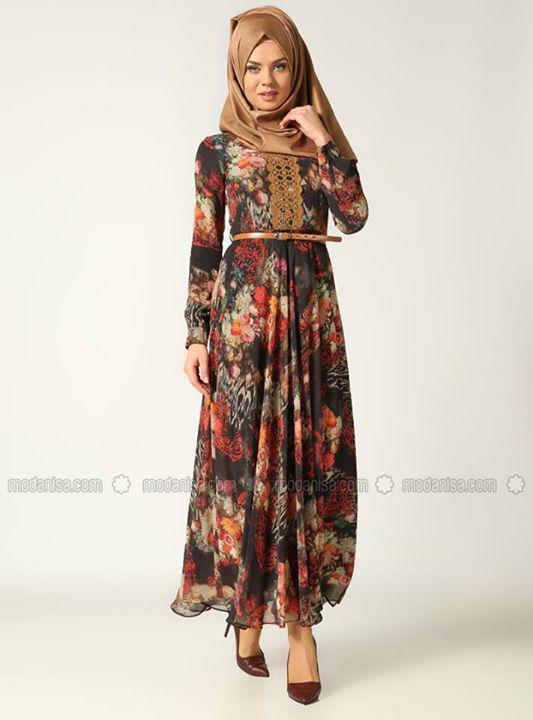 Fashion collection 2017 - Robe Longue Pour Hijab Astuces Hijab