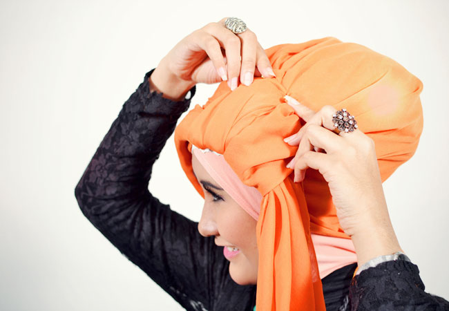 Step n°4: Tutoriel Hijab Style De Turban