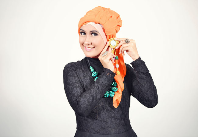 Step n°5: Tutoriel Hijab Style De Turban