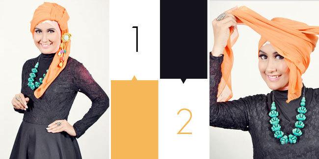 Résultat: Tutoriel Hijab Style De Turban