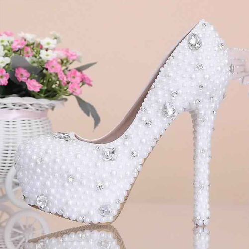 Chaussure mariage femme 1