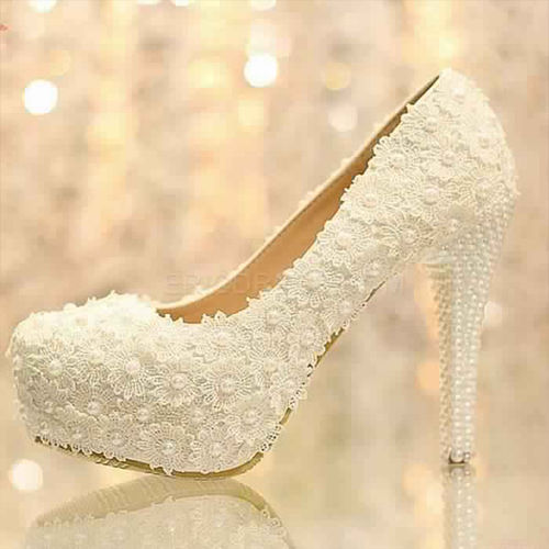 Chaussure mariage femme 8