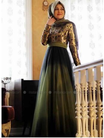 Robe Voilée Astuces Pour Hijab De Soirée Femme rxqIrTS