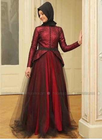 Robe De Soirée Princesse Sublime Pour Hijab  1