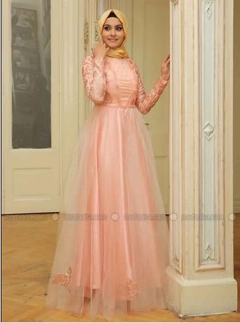 Robe De Soirée Princesse Sublime Pour Hijab  3