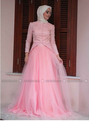Robe De Soirée Princesse Sublime Pour Hijab  7