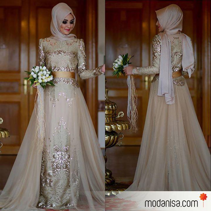 Robe fiancaille musulmane
