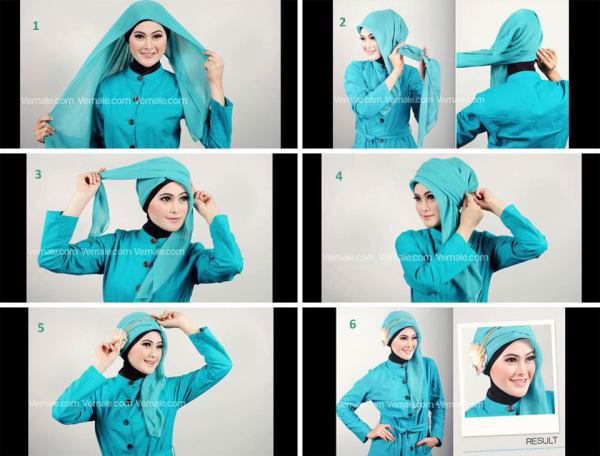 Photo trouver sur: hijaberstutorialsakinah.blogspot.com