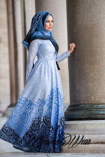 Robe Femme Voilée2