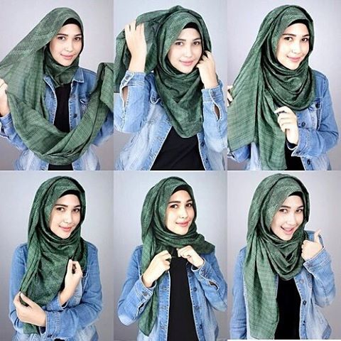 Tutoriel Hijab 2
