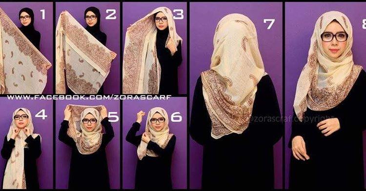Tutoriel hijab3
