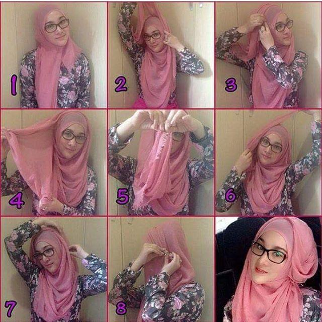 Tutoriel hijab4