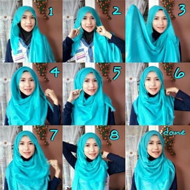Tutoriels De Hijab Moderne Et Élégant 1