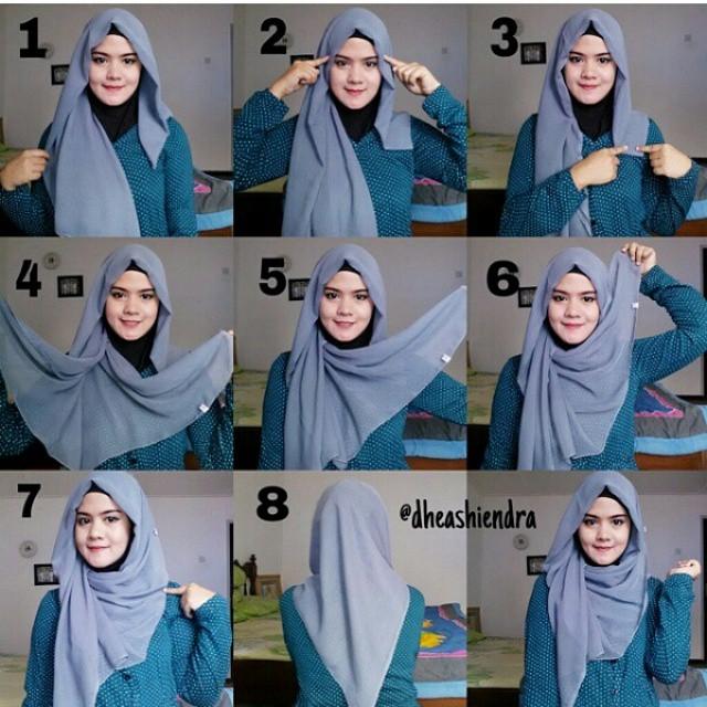 Tutoriels De Hijab Moderne Et Élégant 3