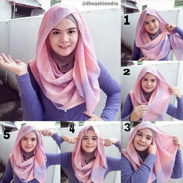 Tutoriels De Hijab Moderne Et Élégant 8