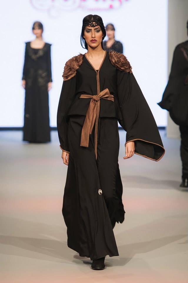 Abayas Dubaï Noirs10