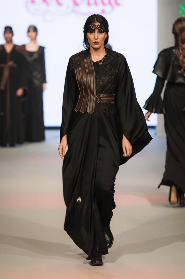 Abayas Dubaï Noirs14
