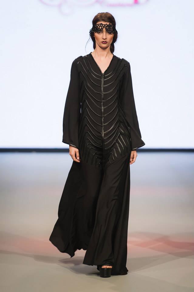 Abayas Dubaï Noirs6