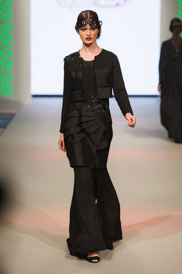 Abayas Dubaï Noirs8