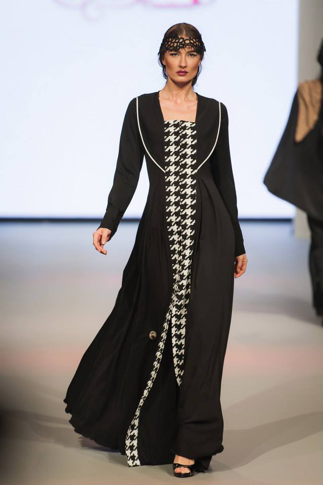 Abayas Dubaï Noirs9