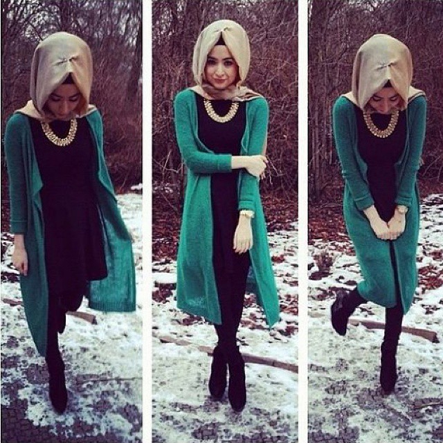 50 Styles De Hijab Modernes Et Tendances Hiver 2016 Que