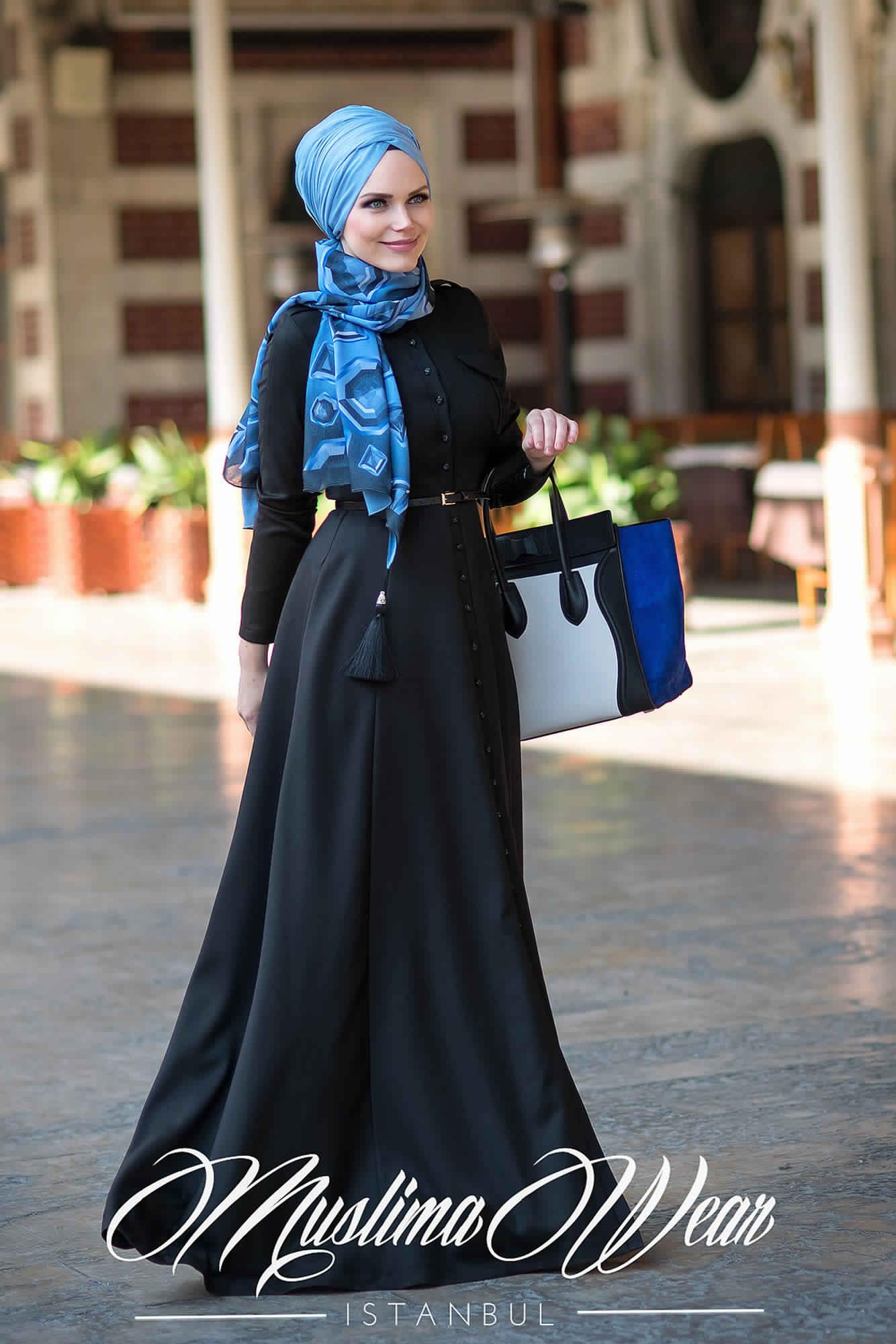Robes-Abayas Modernes2