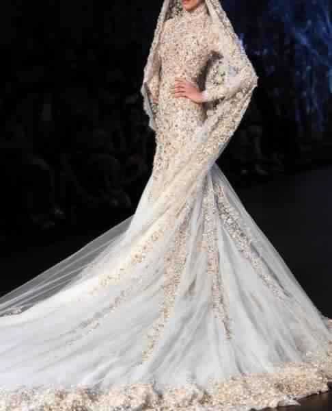 Robes De Mariée Voilée 1