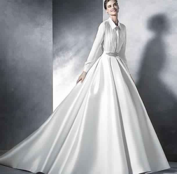 Robes De Mariée Voilée 4