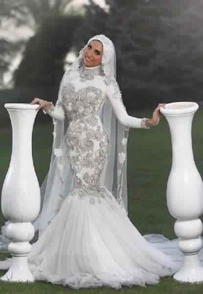 Robes De Mariée Voilée 6