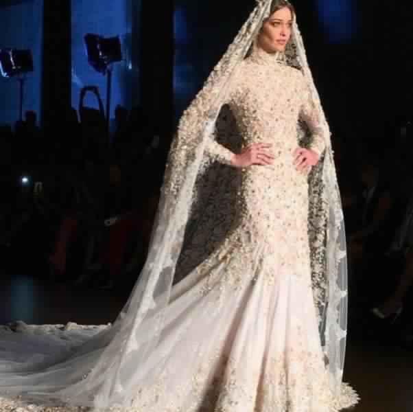 Robes De Mariée Voilée 7