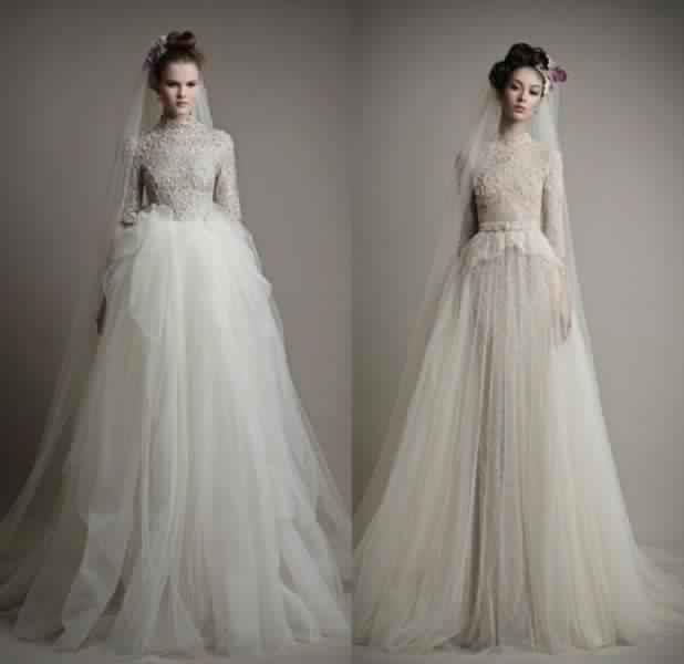 Robes De Mariée Voilée 8