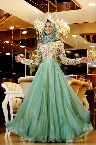 Robes De Soirée Pour Femme Voilée 4
