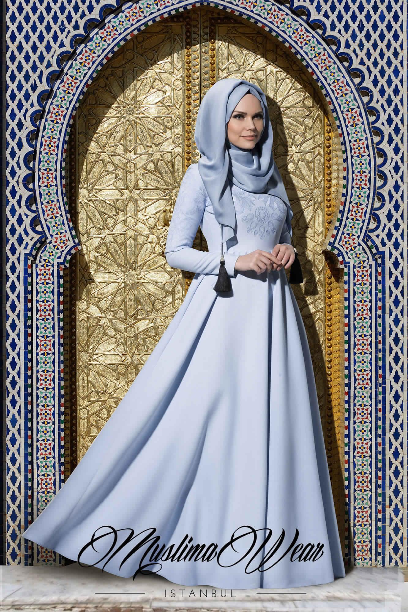 Robes Femmes Voilées Chic