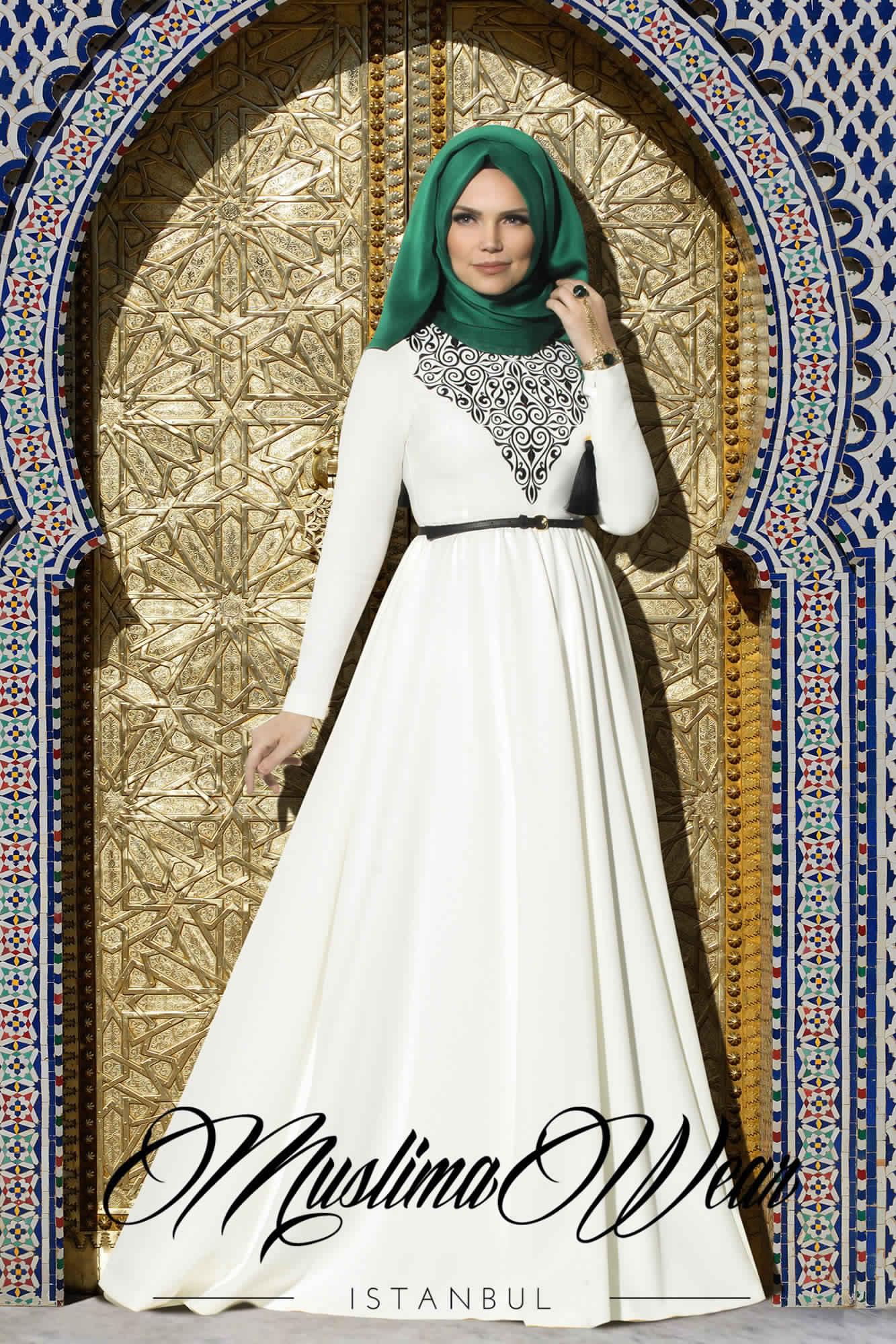 Robes Femmes Voilées Chic5