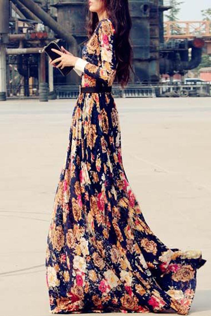 Robes Longues Pour Femme Voilée 1