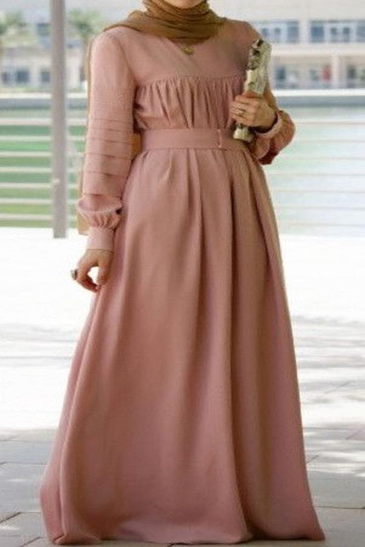 Robes Longues Pour Femme Voilée 11