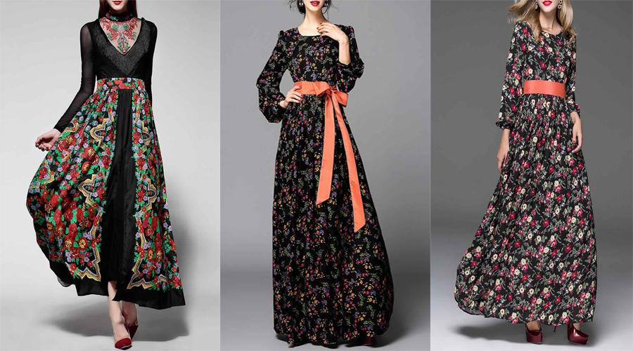 Exclusive Nouvelle Collection De Robes Longues Pour Hijab Tendances