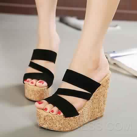 Sandales Compensées 12