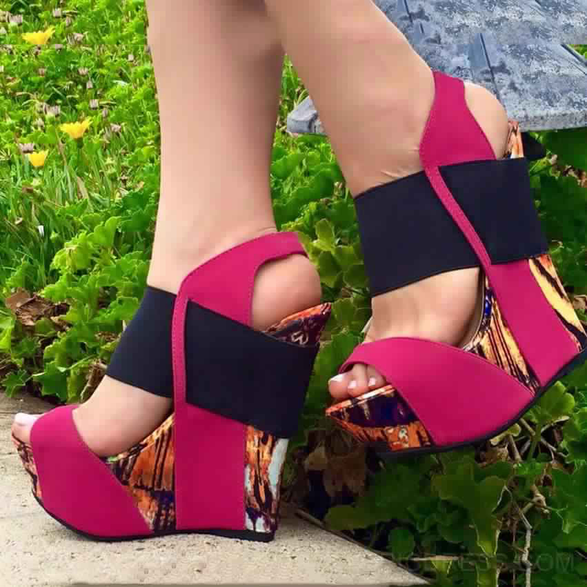 Sandales Compensées 14