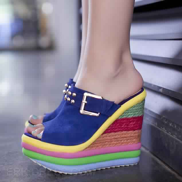 Sandales Compensées 8