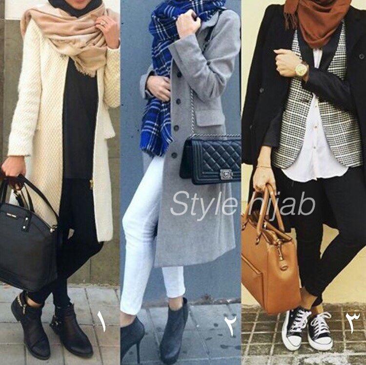 Printemps 2016 Les Styles Hijab Fashion Piquer Astuces Hijab