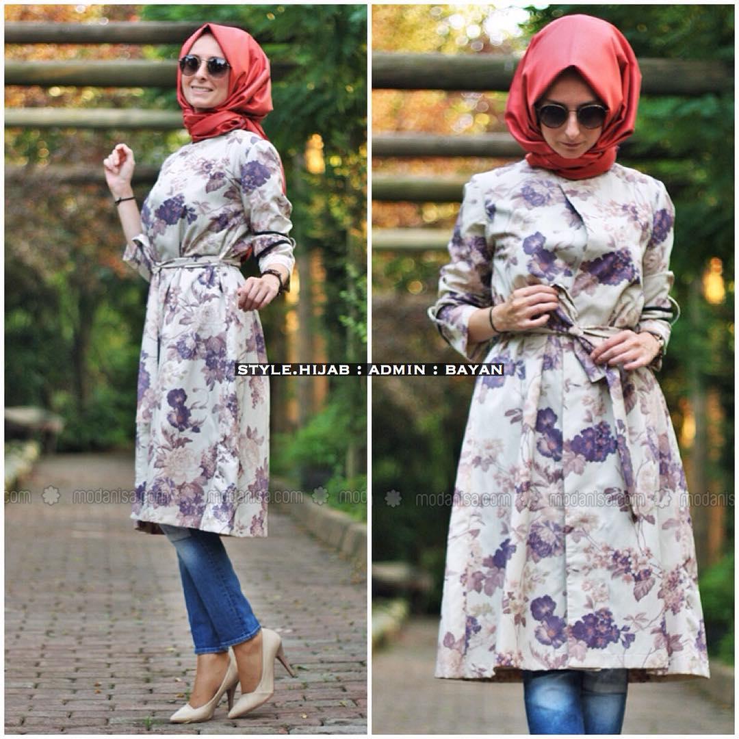 Printemps 2016 Les Styles Hijab Fashion Piquer
