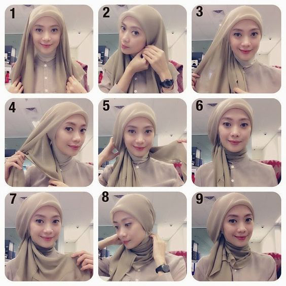 Tutoriels De Hijab10