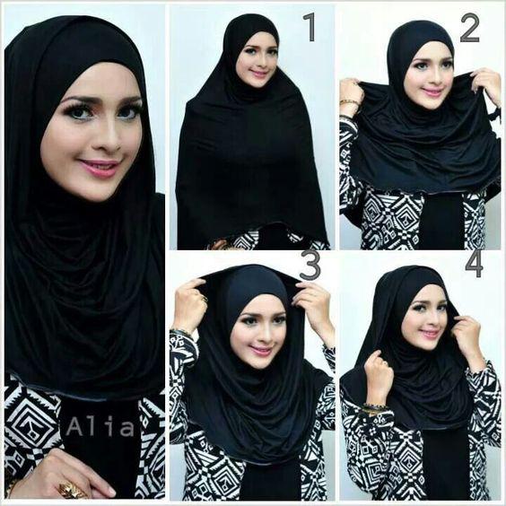 Tutoriels De Hijab13