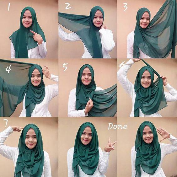 Tutoriels De Hijab18