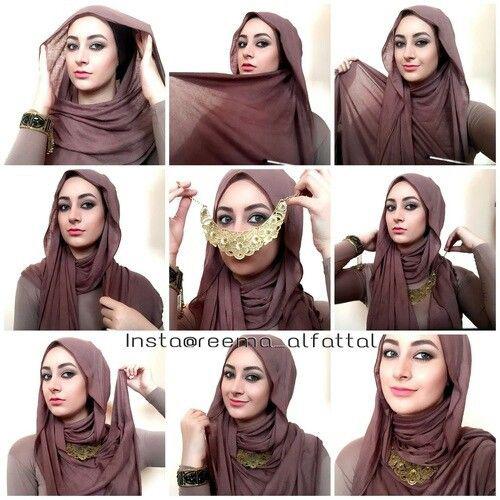 Trouvé sur hijabfashioninspiration.com