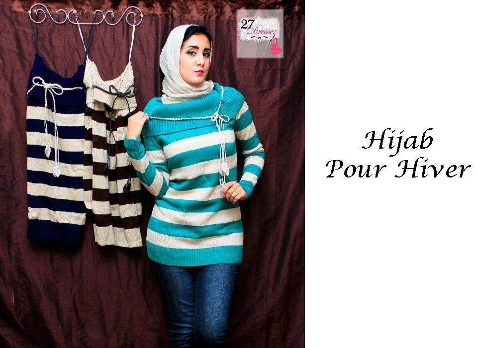 hijab pour hiver