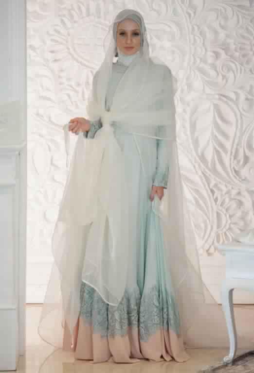 robe de fiancaille femme voilée