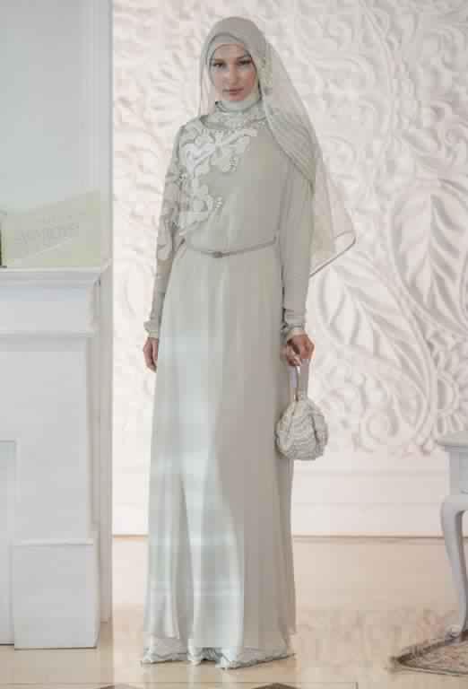 robe de fiancaille femme voilée1