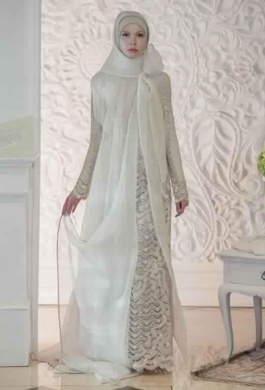 robe de fiancaille femme voilée12